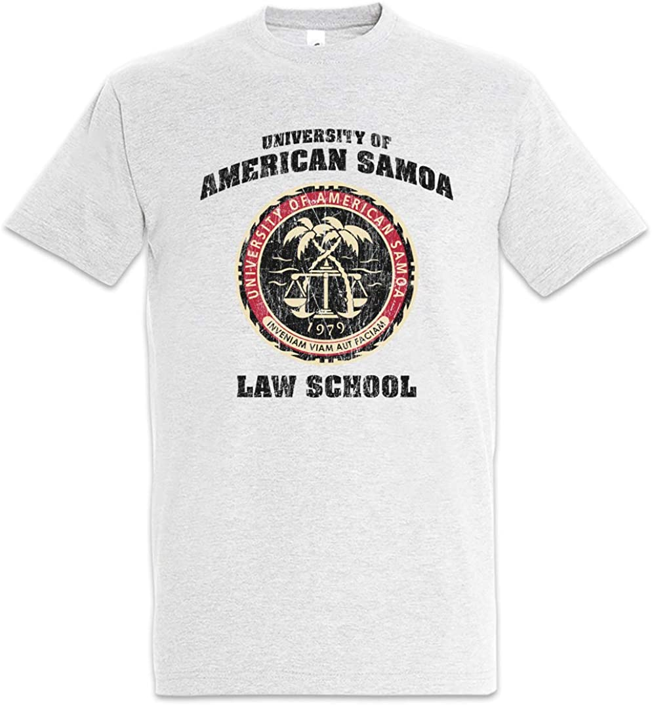 Urban Backwoods University of American Samoa Camiseta De Hombre T-Shirt