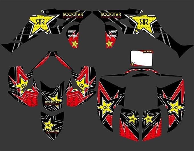 Bicicleta Motocross Kits de Fondo Etiqueta Pegatina de ...