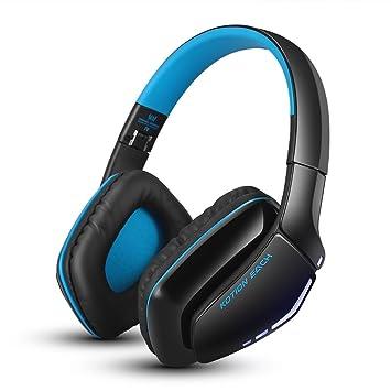 Cascos Auriculares de audio inalámbricos, plegables, Bluetooth. Auriculares para juegos con