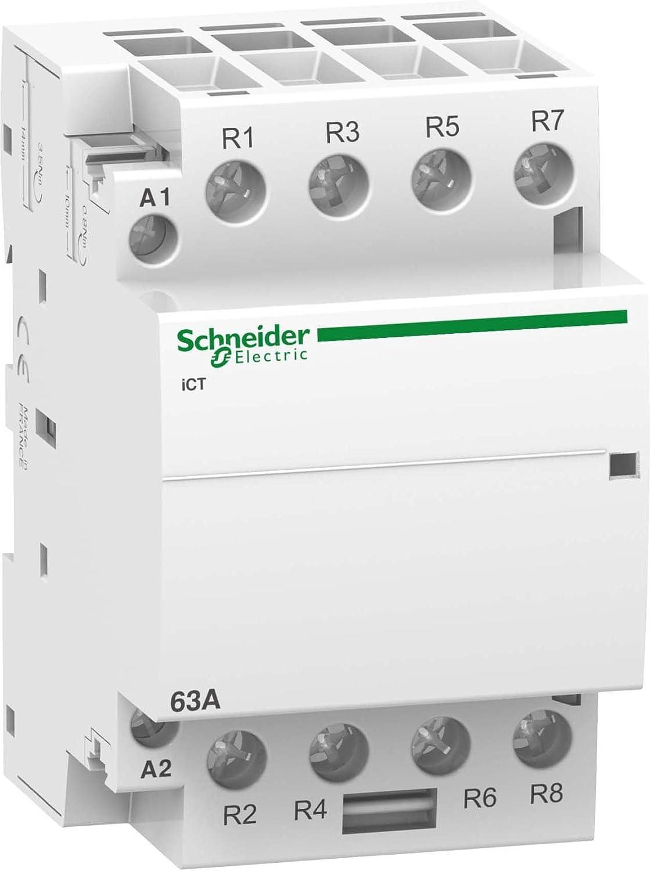 Schneider A9C20167 Installationssch/ütz iCT 63A 4/Ö 50Hz 24 V