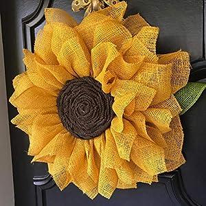 Sunflower Wreath 7