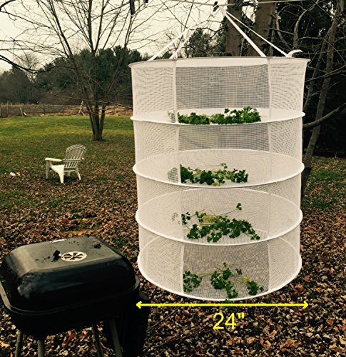 Herb quick cure hanging drying rack bud and plant hang for Gardening gifts for him