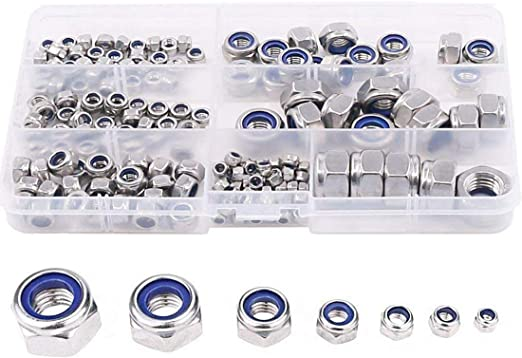 240 Flat Washers M2 M4 M6 M8 M10 M12 Body Washers Assortment Set Zinc Plated