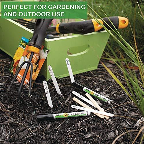 Artline Garden Markers, 0.8 mm Writing Width, Black, 12 Pack (EK-780) by Artline (Image #2)