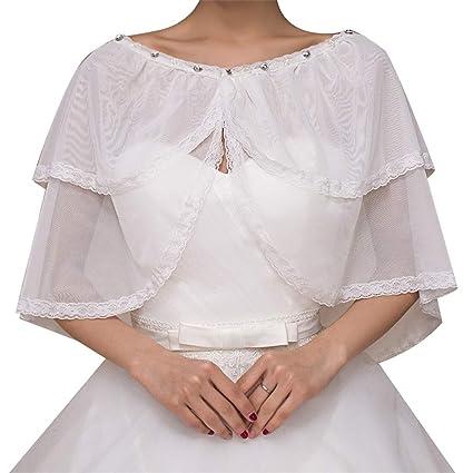 Yocobo Mantón de Fiesta Ligero, Abrigo de Mujer Abrigo Chal de Stoles Chaqueta Bolero Encogimiento