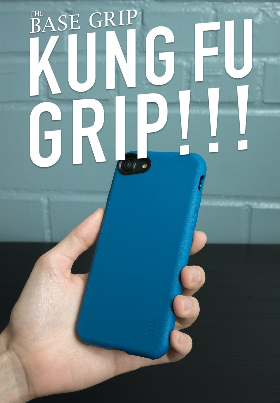 6fc9acc321 Amazon.com: Silk iPhone 8 / iPhone 7 Slim Case - Kung Fu Grip [Lightweight  + Protective] Thin Cover for Apple iPhone 7/8 - Blues on The Green: Cell  Phones & ...