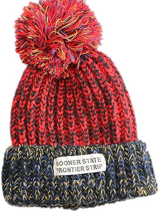 Cosanter Sombrero de Punto para Niños del Bebé Invierno Caliente ...