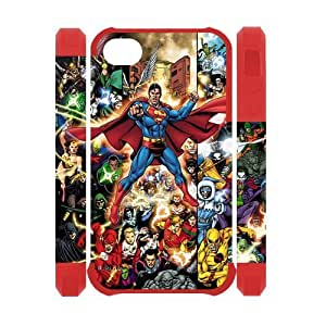DC Comics iPhone 4 4S Case Colorful Cartoon Chrarcter 3D Case Cover Protector Click it at NewOne