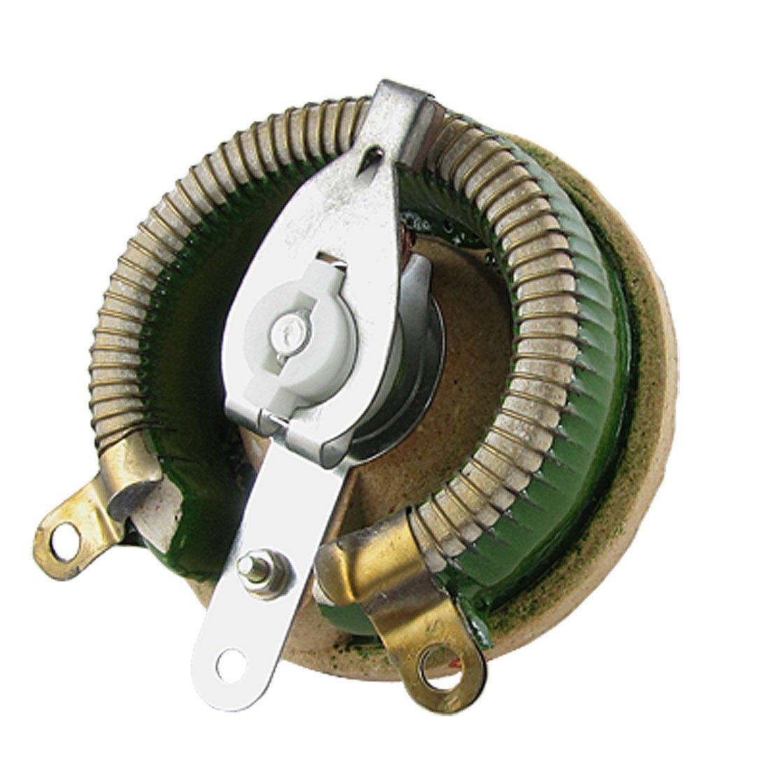 sourcingmap® 100W Watt 5 Ohm Ceramic Wirewound Potentiometer Adjustable Resistor a11111000ux0042