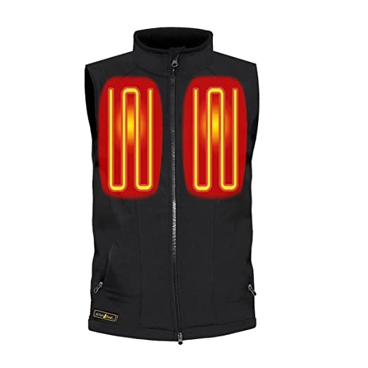 ActionHeat 5V Battery Heated Softshell Vest - Men s at Amazon Men s Clothing  store  6d6012469