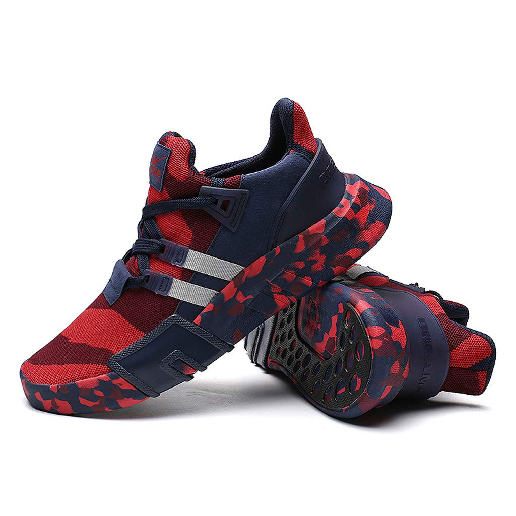 Mens Breathable Lightweight Sneakers 2019 Fashion Camouflage Versatile Sports Shoes