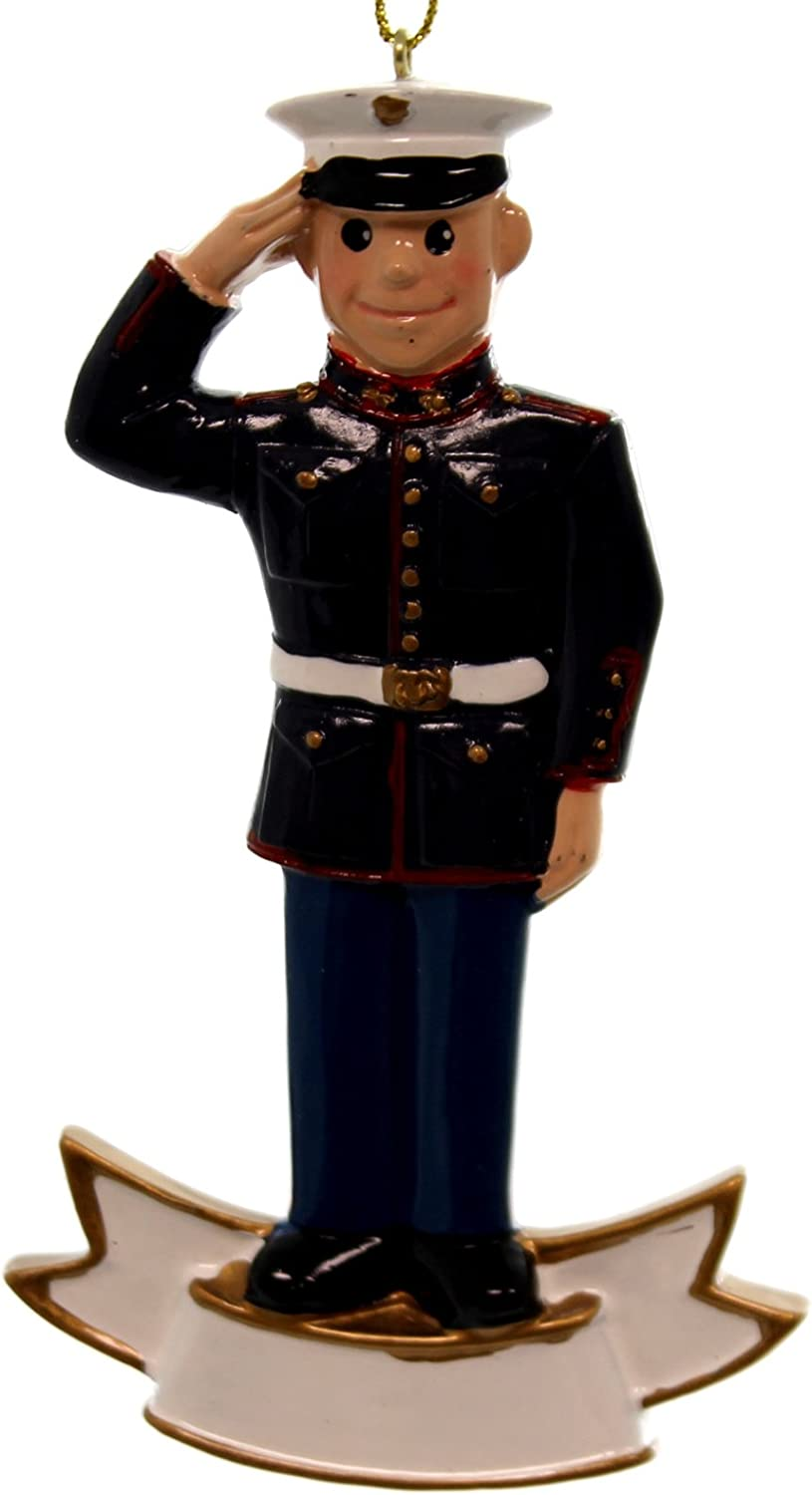 US Marine Corps Soldier Ornament