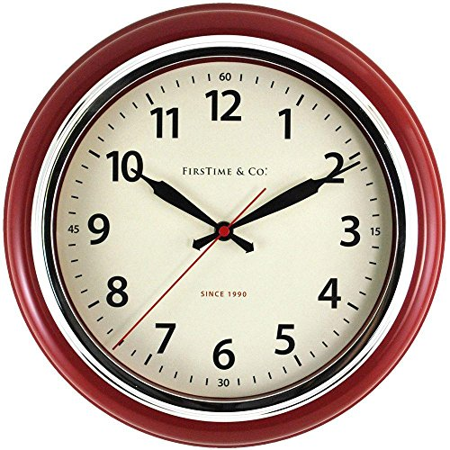 12.5 in. H Cayenne Wall Clock by FirsTime