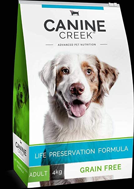 The Pet Point Canine Creek Grain Free Adult Dog Food Usa Formula (4 Kg)