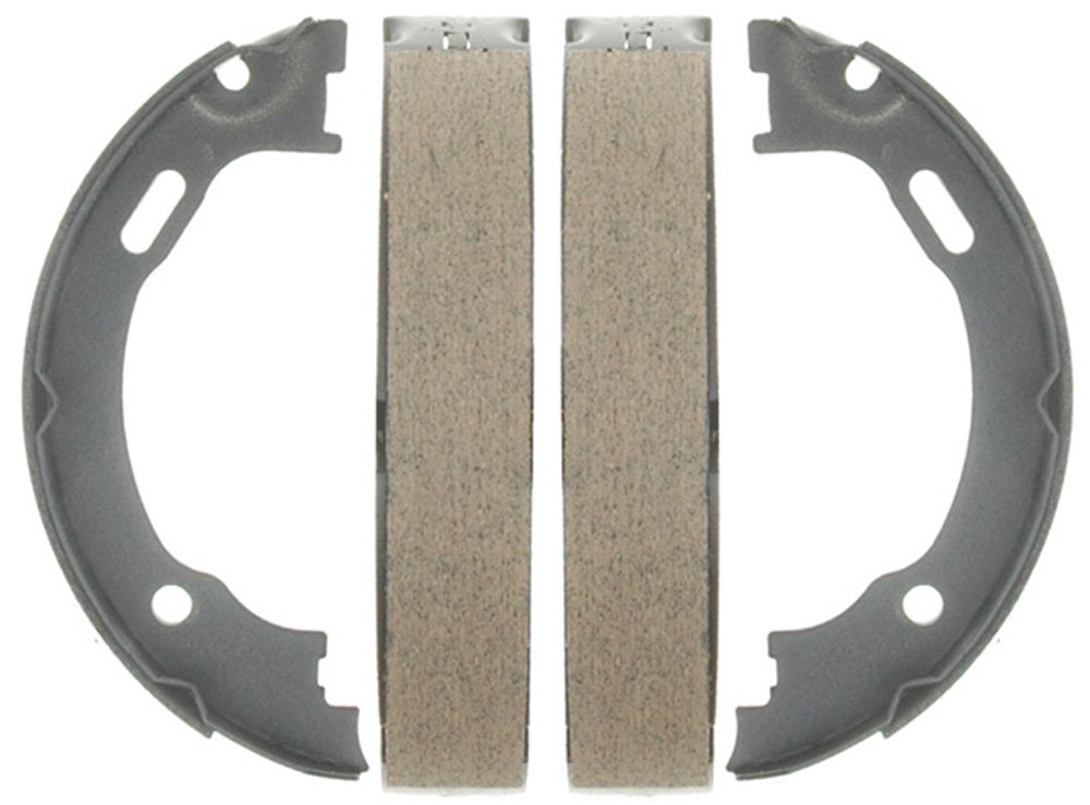 Raybestos 777PG Professional Grade Parking Brake Shoe Set - Drum in Hat