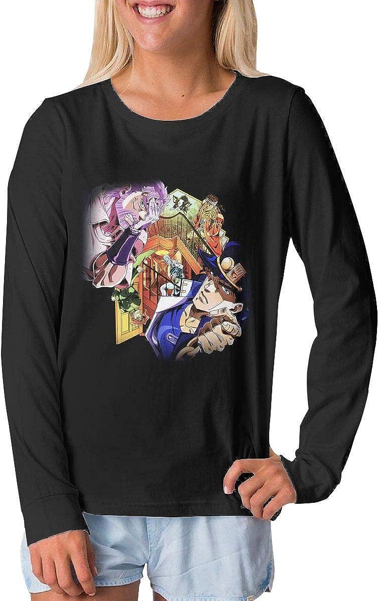 BilliePhillips Adolescent JoJos Bizarre Adventure Sports Long Sleeve T Shirt