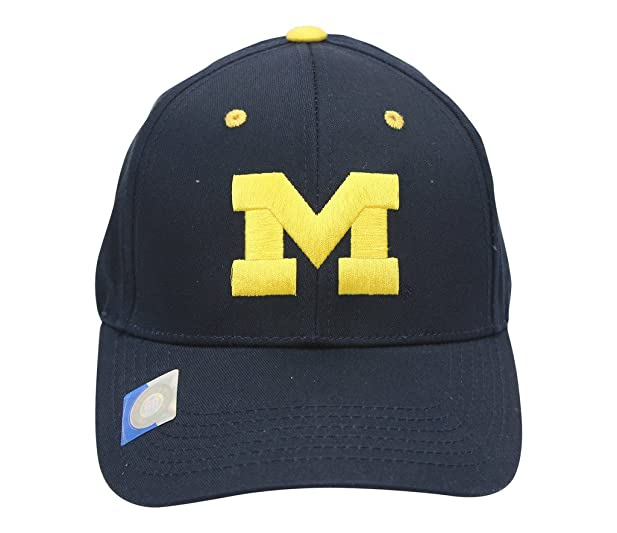 7429e263897 order michigan wolverines embroidered hat velcro enclosure navy blue 73ff3  a1bb2