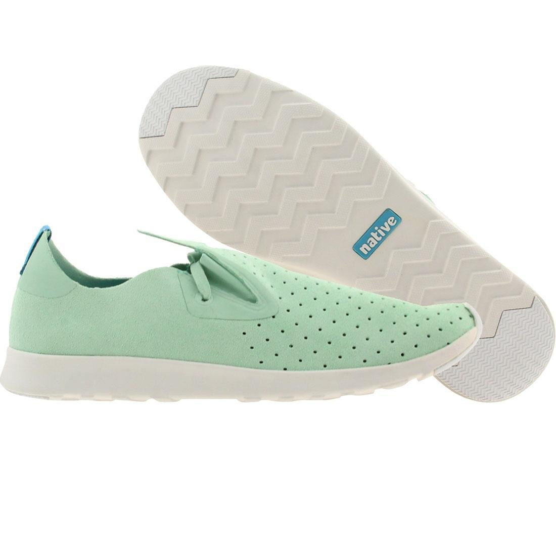 native Mens Apollo Moc Glass Green/Shell White Low-Top Sneakers Size: 8 Style: 21102400-3177