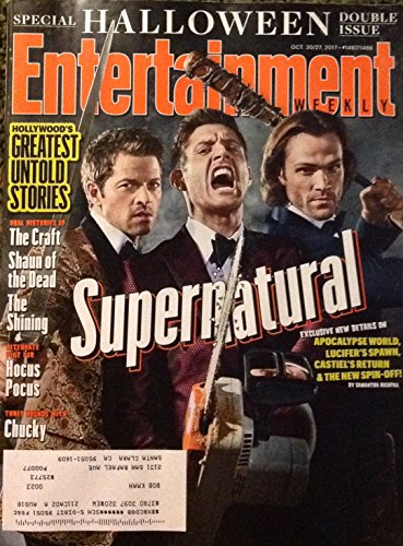 Entertainment Weekly Magazine (October 20, 2017) Supernatural, Special Halloween Double (E News Halloween 2017)