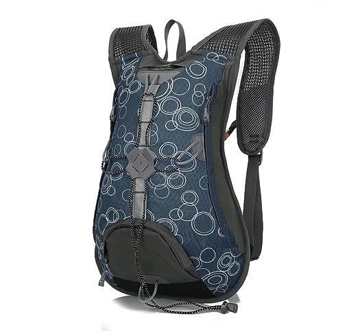 Paquete de bicicleta mochila de montar a caballo Paquete de deportes al aire libre de hombre y mujer con una cubierta de casco , D: Amazon.es: Deportes y ...