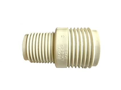 PVC Garden Hose Adapter (Male 1/2u0026quot; NPTx 3/4u0026quot; GHT