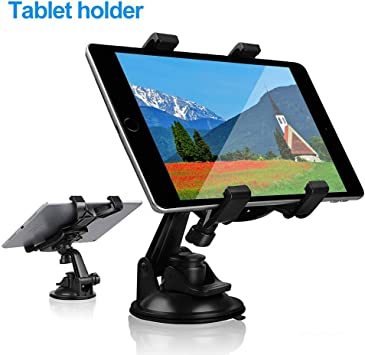 Car windshield Mount Holder Stand For 7-11 inch ipad Mini Air Galaxy Tab Tablet