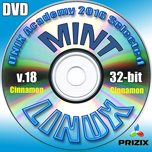 Mint Cinnamon 18 Linux DVD 32-bit Full Installation Includes Complimentary UNIX Academy Evaluation Exam (Mint Software Mac)