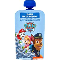 Paw Patrol Bold Blueberry Organic Mixed Fruit Squeeze Pouch, 3.5 oz. (Pack of 10)