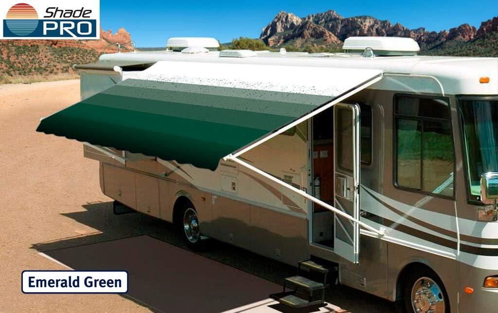 Emerald Green 17 Innova RV Vinyl Awning Replacement Fabric Fabric 162