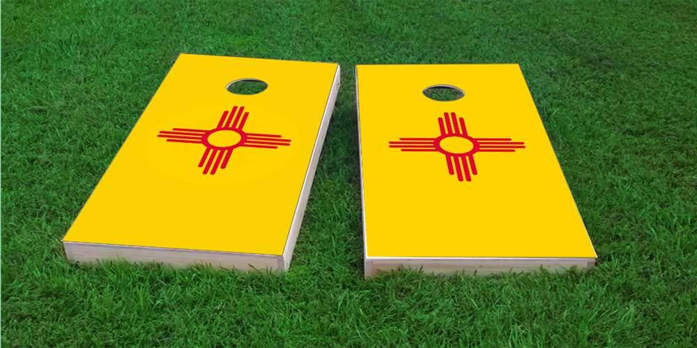 【正規品質保証】 Skip's - Garage ニューメキシコ国旗 コーンホールボード - バッグとアクセサリーを選択 - - ボード2枚、バッグ8枚など Logo B07PFGHQZG C) State Logo Bags (Corn) L. ケース、ホールライトとエッジライト付き C) State Logo Bags (Corn), タマナグン:ed51e34d --- efichas.com.br