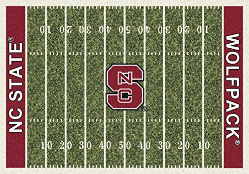 - North Carolina State College Home Football Field Rug: 54