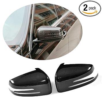 Amazon.com: MCARCAR KIT Funda de espejo para Mercedes Benz ...