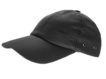 259386e13764 Thor Equine Leder Cap Western Cap Basecap schwarz  Amazon.de  Sport ...