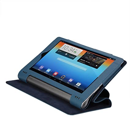 check out a5d0b cd66b ProElite PU Leather Flip case Cover for Lenovo Yoga Tab 3 8