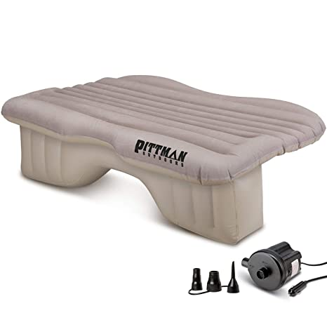 Amazon.com: Pittman - Colchón hinchable para asiento trasero ...