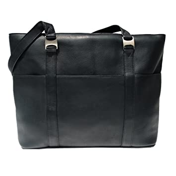f26cc7407cb4 Amazon.com  Piel Leather Computer Tote Bag