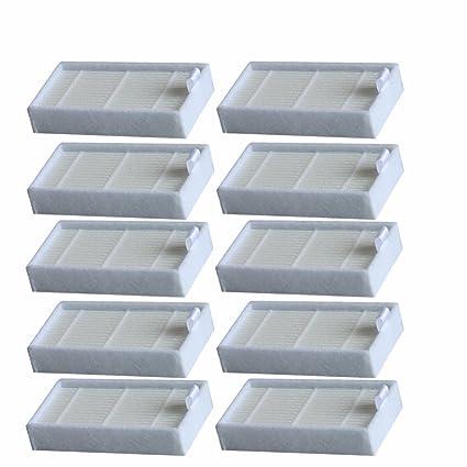 YTT alta calidad 10pcs filtro HEPA para Chuwi iLife V5 V3 V1 Serie iLife v5pro X5 V5S iLife V5 PRO