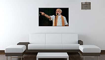 Buy Speaker Narendra Modi Wall Sticker-36