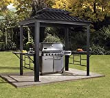 Sojag BBQ Messina, 6' x 8', Charcoal