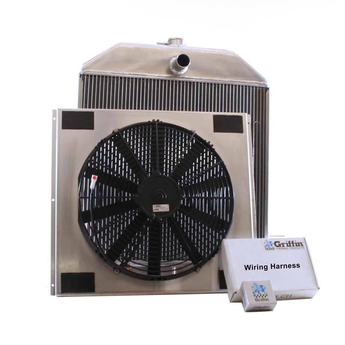 Griffin Radiator CU-70102 ComboUnit Radiator and Electric Fan Kit