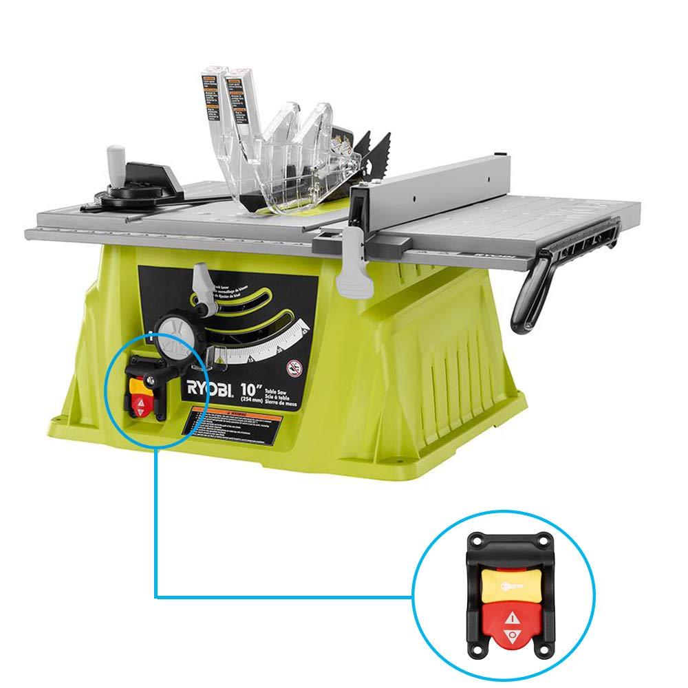 Interruptor de sierra de mesa 089110109712 para Ryobi Craftsman ...