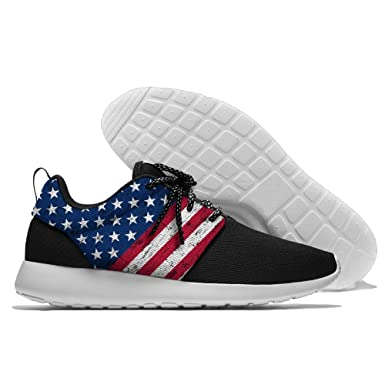 American Flag Stripe Jogging Shoes Sport Sneakers Casual Shoes