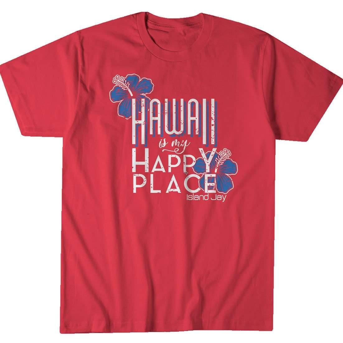 Island Jay Hawaii is My Happy Place T-Shirt