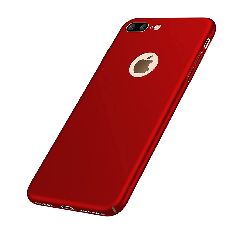 VELLYOU [2-en-1 iPhone 7 Plus Funda + Regalo [Protector de Pantalla], Carcasa 360°Protegido Case Cover para Apple 7 Plus, 5.5
