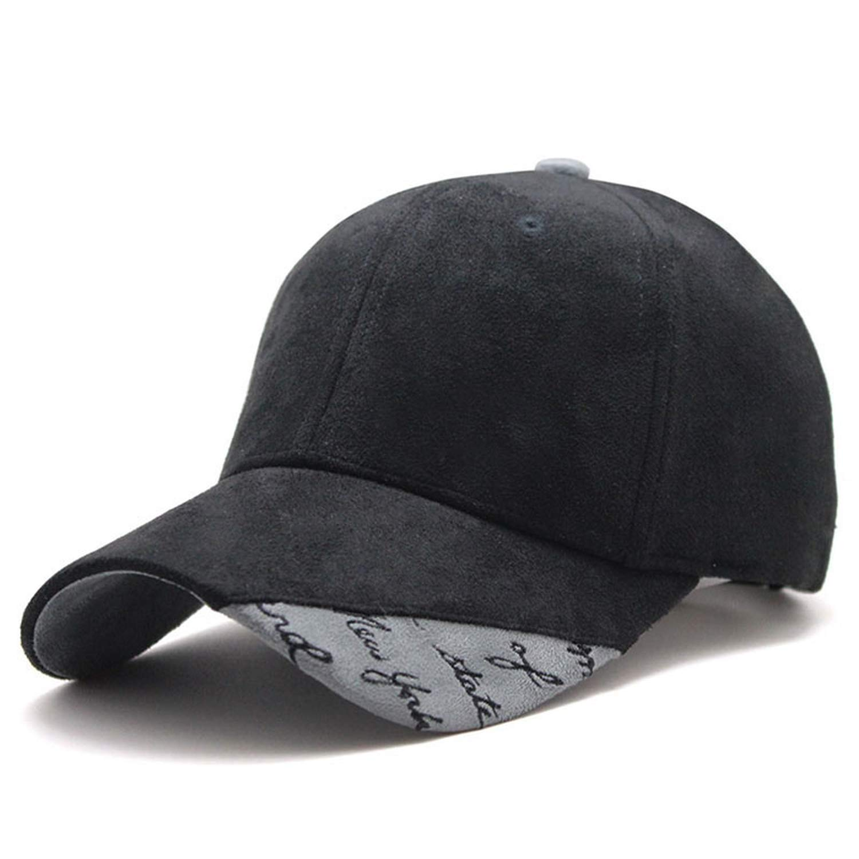 CHENTAI New Suede Fabric Baseball Cap Men Women Cotton Snapback Hat