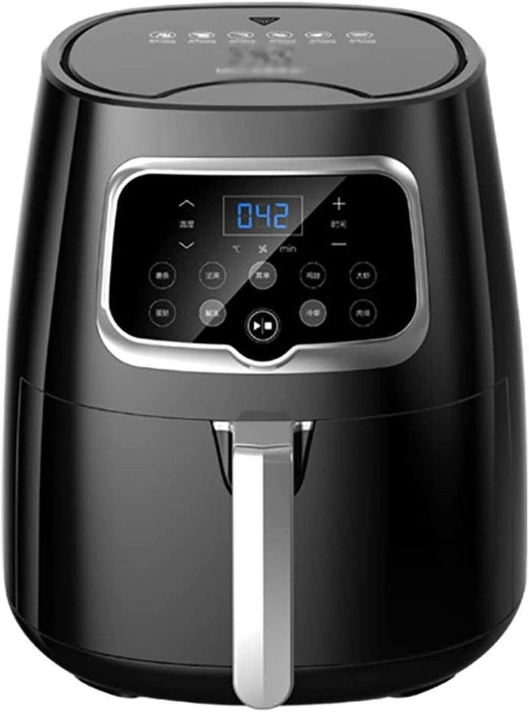 TSWEET Air Frye, 4.5L Oil Free Air Fryers for Home Use, LED One Touch Screen, Timer & Temperature Control,Nonstick Basket,1350W