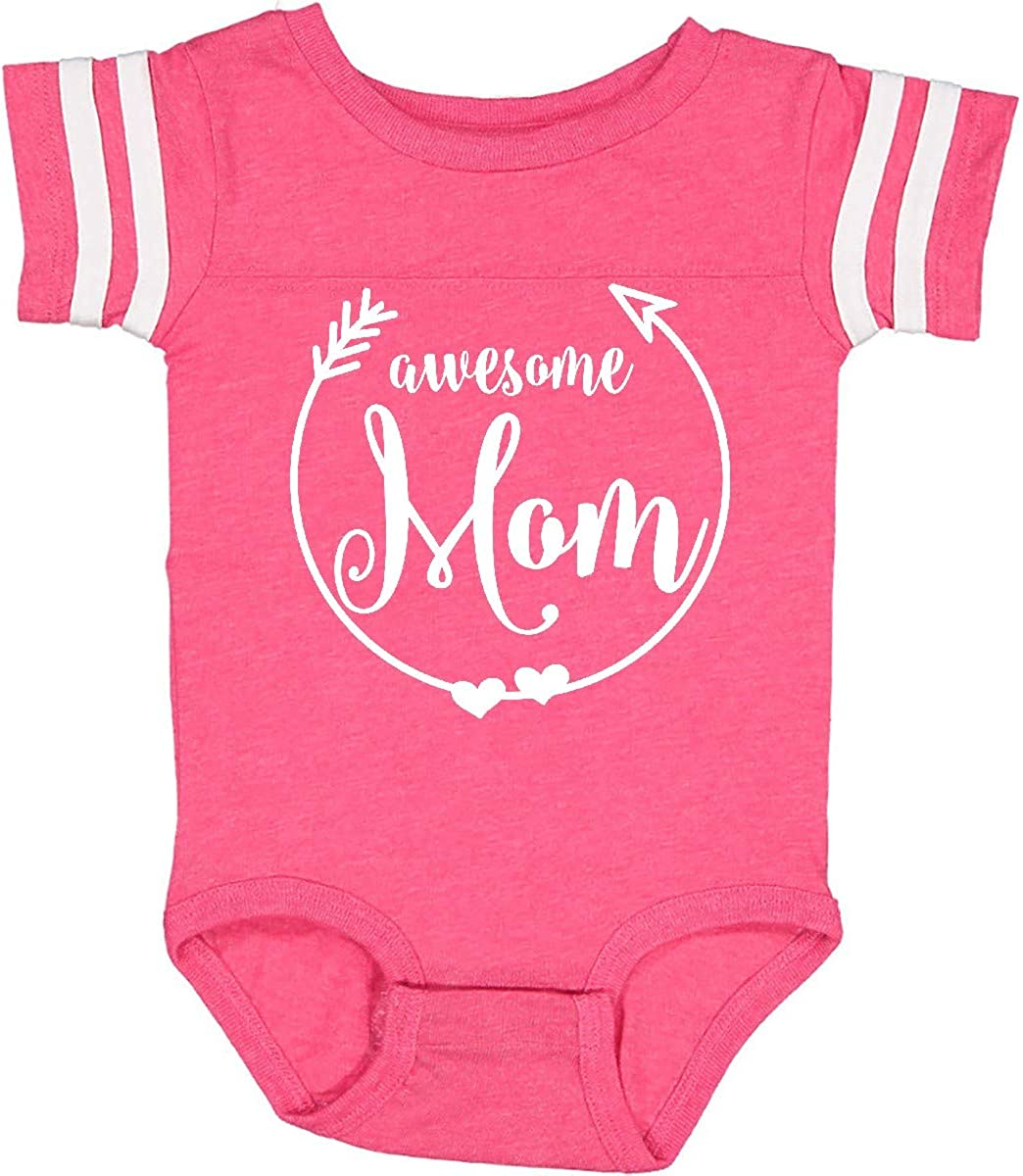 inktastic Awesome Mom Gifts White Infant Creeper