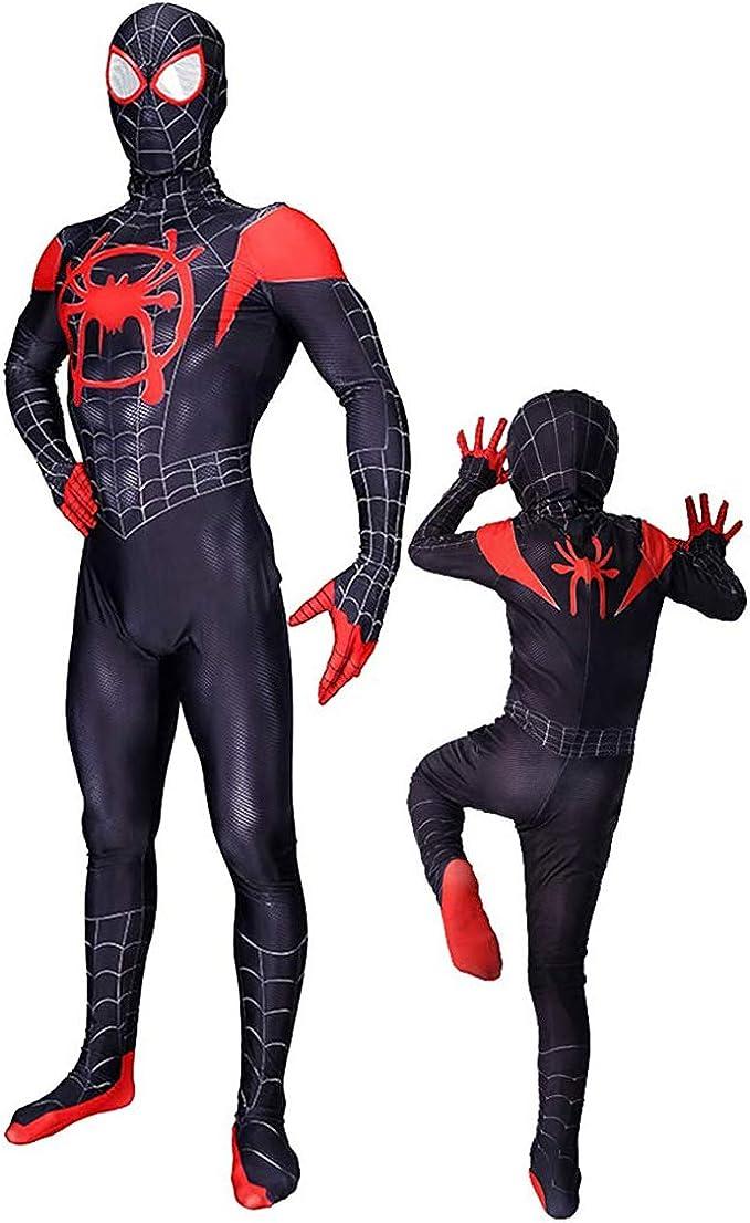 Amazon.com: AYJK7 Disfraz de Halloween Miles Morales Cosplay ...