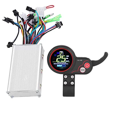 DEWIN 25oW/350W Scooter Controller with LCD Display Control Panel with Shift Switch Accessory for Electric Bike Scooters E-Bike(60V 250/350W彩屏双模款): Home & Kitchen