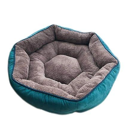 Cama para mascotas Cama de Perro de Ante Pequeño Medio Mantener Cálido Cama de Gato Sofá